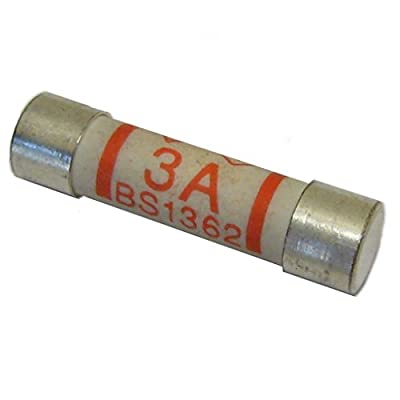 5 x 3 amp Plug Top Fuse by Generic