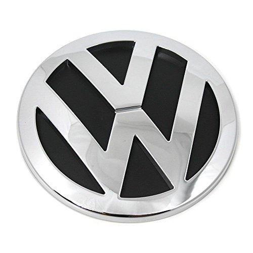 7H0853630ULM Emblem hinten Heckklappe Logo chrom schwarz glänzend