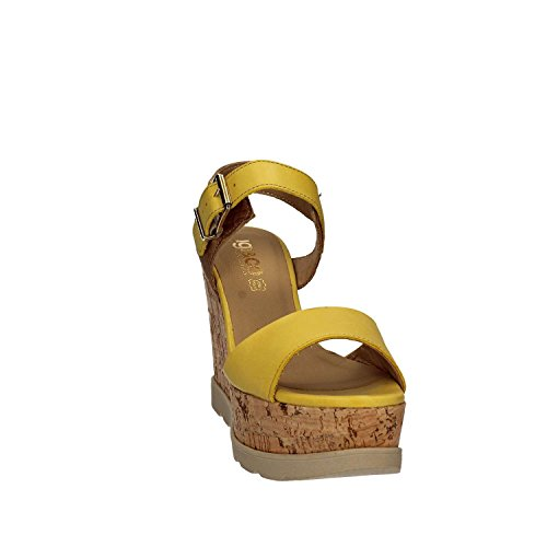 Igi&Co 7869 Sandalo zeppa Donna Giallo