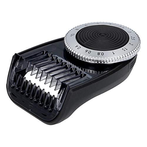 Philips 422203626161 ORIGINAL Kammaufsatz Trimmeraufsatz Rasieraufsatz Kamm Trimmer Clipper Drehrad 0,4mm-10mm für OneBlade Pro Rasierer Rasierapparat