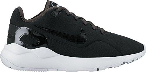 Nike 882266, Scarpe da Ginnastica Basse Donna BLACK/BLACK-COOL GREY-WHITE , Schwarz, Schwarz/Grau