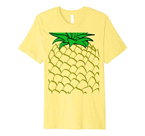 Ananas Kostüm Halloween T-Shirt einfach (Ananas Kostüm Für Erwachsene)