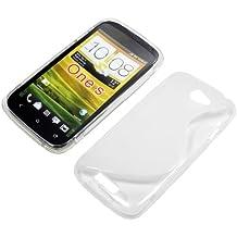 Custodia In Silicone S-Design Trasparente Per HTC One Spreciso, Protegge da graffi, sporco, cadute
