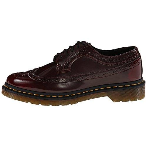 Dr. Martens Chaussures de Ville à Lacets Pour Homme Multicolore Cherry Red/Rouge 38