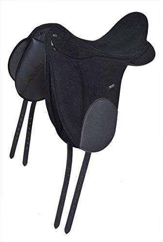 HKM 555486 Dressursattel - Zeus - Soft, XL, schwarz