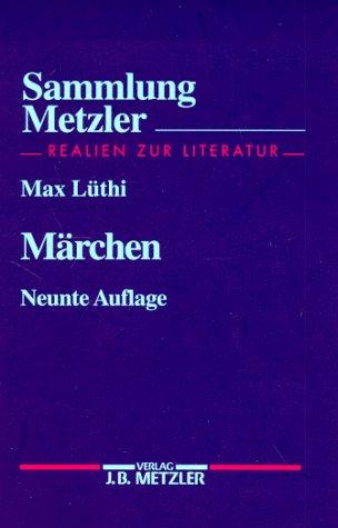 Sammlung Metzler, Bd.16, Märchen