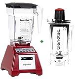 Pack promo Blender Blendtec Total Blender Rouge + Twister Jar 800 ml - Blender