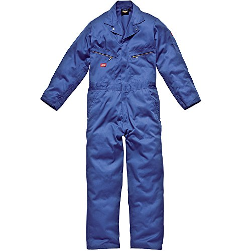DICKIES MENS WORKWEAR DELUXE COVERALL ROYAL BLUE WD4879RRO