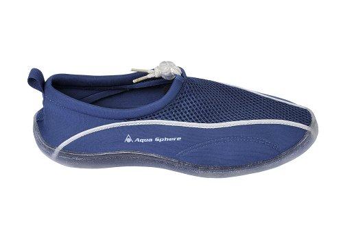 Aqua Lung Badeschuhe Lisbona Schwimm-Schuhe Strandschuhe Surfschuhe Neoprenschuhe blau-transparent