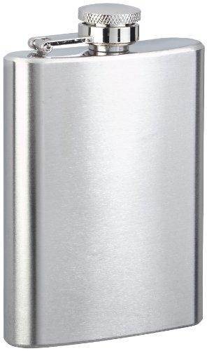 Edelstahl Mini Flachmann 90ml Hosentasche Trinkflasche Edelstahlflachmann Flasche