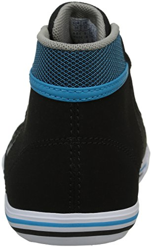 Le Coq Sportif Unisex-Kinder Saint Gaetan Mid Gs Poke Sneakers Schwarz (BlackBlack)