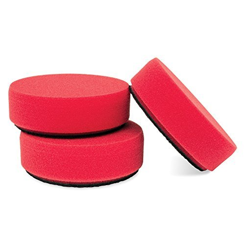 Preisvergleich Produktbild Griot's Garage 11263 3 Red Waxing Pad - Set of 3 by Griot's Garage