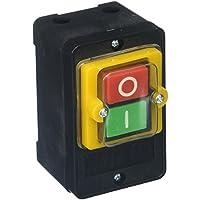 Interruptor de Botón a Presión Impermeable de Inicio-Parada - Encendido/Apagado - 10A 380V AC