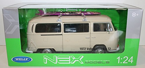 welly-nex-72-volkswagen-bus-t2-camper-van-official-vw-product-cream-with-surfboard