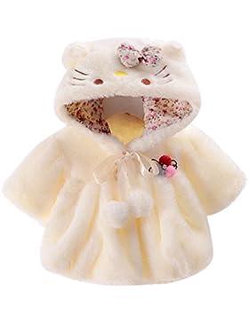 Samber Baby Kleinkind Mädchen Warmer Mantel Winter Coat Fleece Umhang Jacke Dicke Warme Kleidung