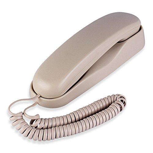 Festnetz-Telefon Festnetz-Linie Badezimmer-WC-Wand hängen Maschine Größe 21,5 * 6 * 6 cm (Farbe : Beige Color)