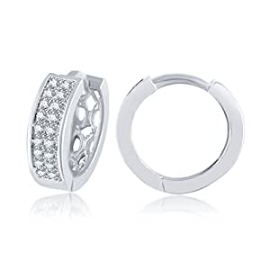 Meenaz Bali Ear Rings For Girls Hoop Earrings For Women In American Diamond Jewellery For Women