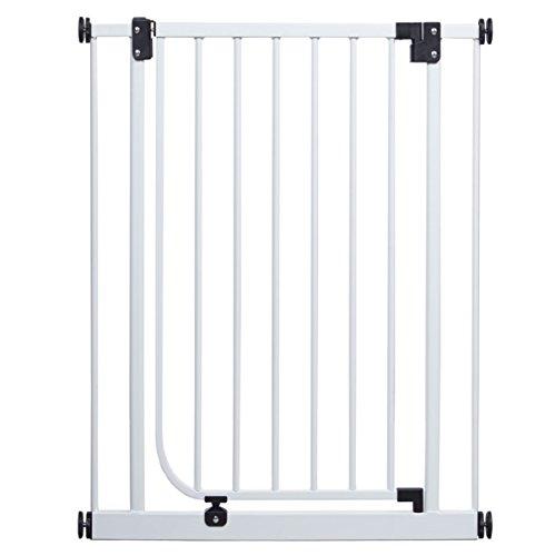 Impag Extrahoch 107 cm Tür- und Treppenschutzgitter 73 – 142 cm selbstschließend, ideal für große Menschen – zum Klemmen – ohne Bohren Easystep + 20 - 2