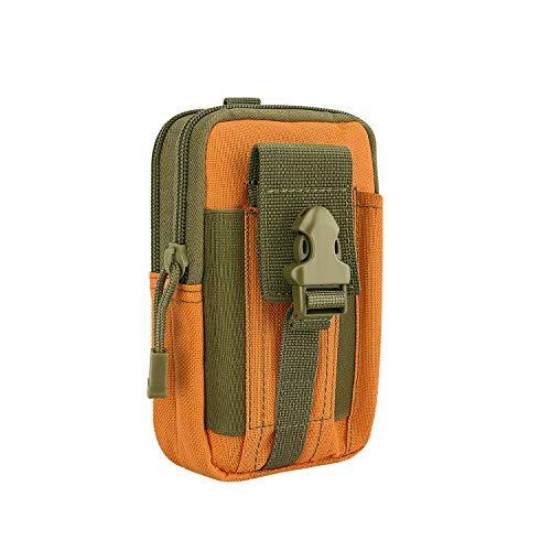 MoKo Taktische Hüfttaschen Molle Tasche, Mehrzweck Reißverschluss EDC Pouch für 6,5