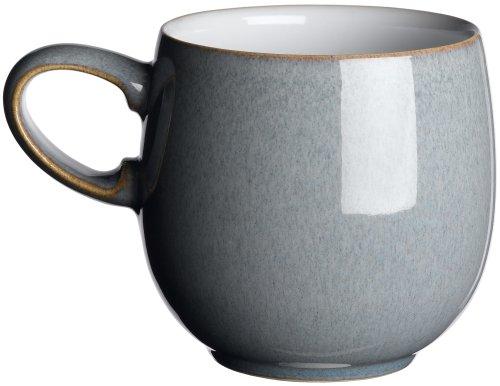 Denby Jet Kleiner Becher 8,5cm, grau (Kochen Glaswaren)