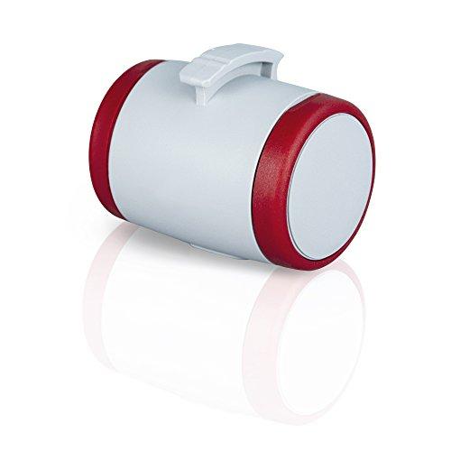 Preisvergleich Produktbild flexi VANZMB.510.R Roll-Leinen-Zubehör Multi Box grau / rot (passend flexi Vario und New Classic ab Gr. S)
