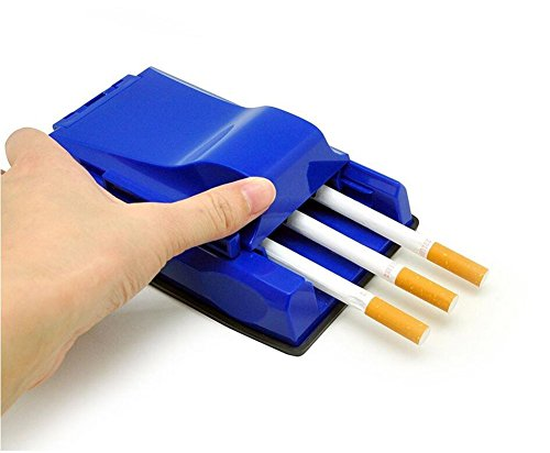 SamuroMüller hyf-Elektrische Automatische Zigaretten-Drehmaschine Tabak-Injektor-Bequeme Hersteller-Rolle 2 Sätze