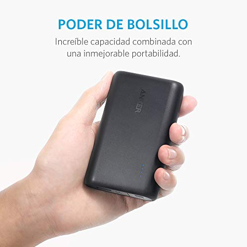 Best anker power bank in India 2020 Anker PowerCore FBA_A1266H11 10000mAH Lithium-ion Power Bank (Black) Image 5