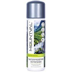 Mountval, solución de Lavado a Prueba de Agua para Ropa de Clima húmedo y Equipo de Caminata, Transparente (Neutral), 250.00 ml