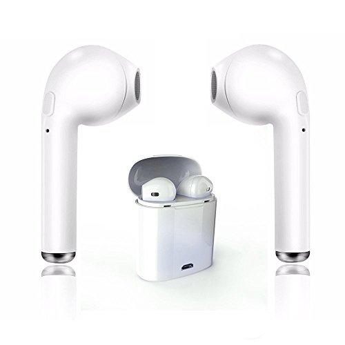 Bluetooth Headset, Wireless Sport Kopfhörer Ohrhörer Stereo Kopfhörer für Apple iPhone 8 X 7 7 Plus 6 S 6 S Plus und Samsung Galaxy S7 S8 S8 Plus, Android Smartphone (Iphone Bluetooth Apple)
