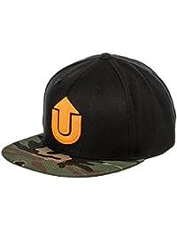 UpFront Company Logo Snapback FV Cap Black Camo