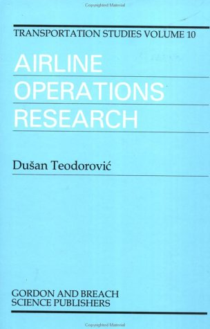 Airline Operations Research (Transportation Studies)