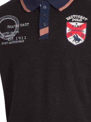 Ultrasport Fort Lauderdale Collection Herren Poloshirt Boca Raton Black