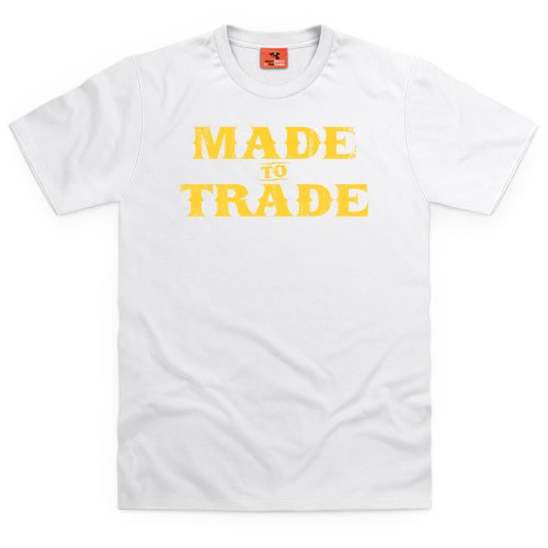 Square Mile Made to Trade T-Shirt, Herren Wei