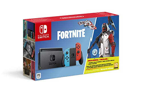 Nintendo switch fortnite edition - limited