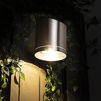 Anthracite Grey Truro Outdoor Solar Wall Light