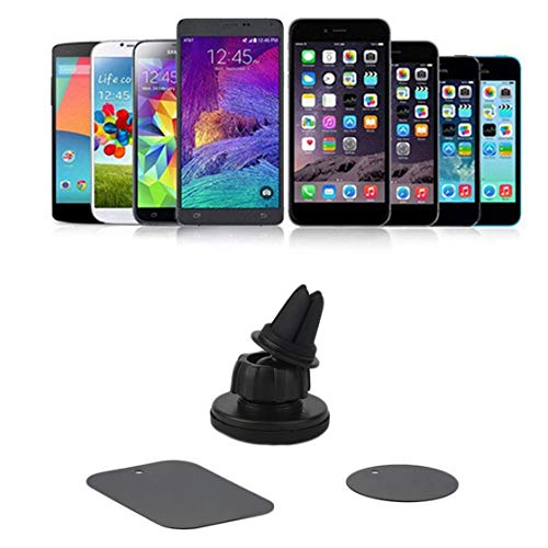 Somedays Support T/él/éphone Voiture Universel Magn/étique Support Voiture avec la Rotation /à 360 Degr/és pour iPhone 8 8 Plus iPhone 7 7 Plus 6s 6s Plus 6 6 Plus iPhone SE 5 Samsung Galaxy Huawei Wiko
