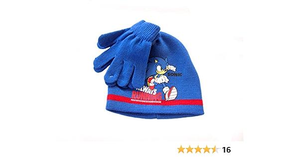 Guanti invernali Sega Sonic The Hedgehog bambino 3407