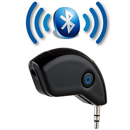 tomaxx Bluetooth Audio Musik - Streaming Empfänger Adapter Audiogeräte mit 3.5mm Jack Stereo Ausgang für HiFi und Kfz Auto - Lautsprechersystem