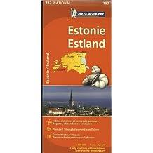 ESTONIE / ESTLAND 11782 CARTE ' NATIONAL ' MICHELIN KAART