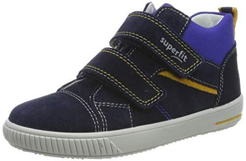 Superfit Baby Jungen Moppy Sneaker, Blau (Blau 80), 25 EU