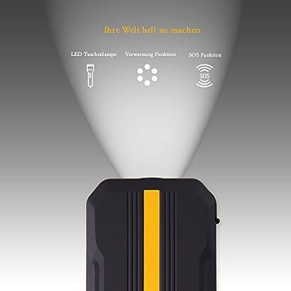 41N0divL8QL. SS416  - Homelody Arrancador Coche 13600mAh ,500A Jump Starter para la coche 4.0L Gasolina y 2.0L Diesel,Cargador Batería &Power Bank con Puerto de USB y La Linterna LED para Teléfono Móvil y Tableta