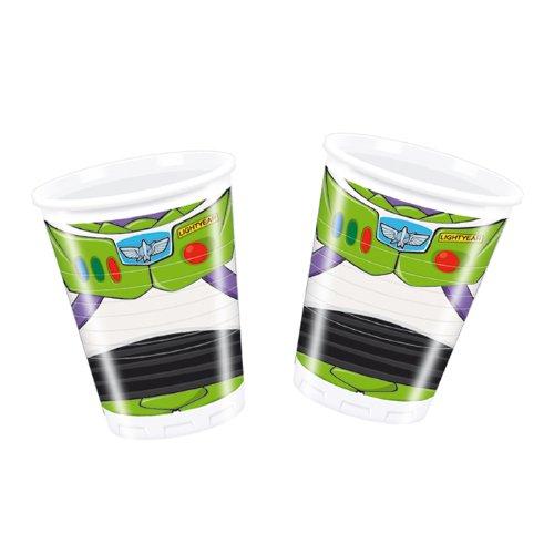 Cups, Toy Story, 200 ml, Lot de 8.