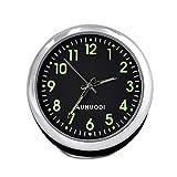 Hamkaw Reloj de Coche, Luminoso Reloj de Salpicadero de Alta Precisión con Viscosa Fuerte, para Conducción Segura, Decoración de Coche