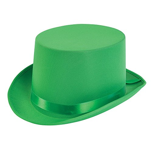 Bristol Novelty bh498 Top Hat, grün, One -