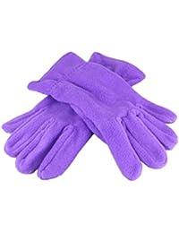 Handschuhe Bekleidung HIFUN 13357 hi-Call Frau lila Fingerhandschuhe Damenhandschuhe