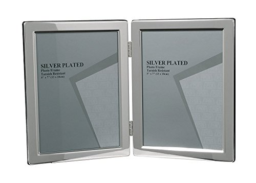 evergreen-tarnish-resistant-silver-plated-narrow-edge-double-photo-picture-frame-5x7-inch