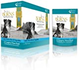 Burns Dog Food Moist Penlan Lamb, Brown Rice and Vegetables for Dogs of all Ages 6 x 400 g Pouches