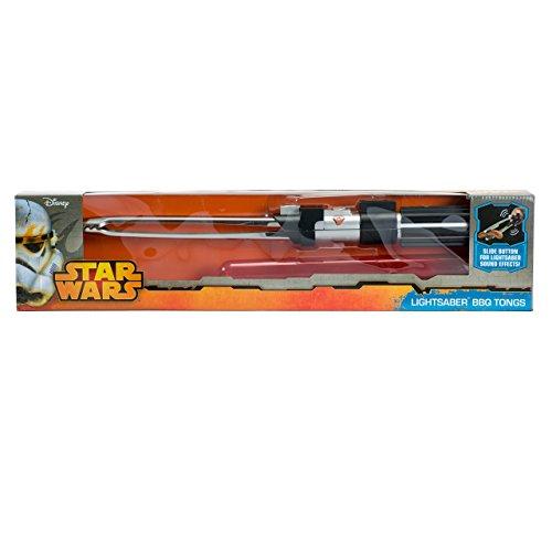 41N0hfLvU2L - getDigital Star Wars – Grillzange im Lichtschwert-Design