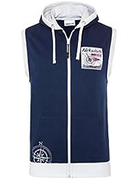 T195 - NEBULUS Hoodyweste ROCKY, Shirt, Hemd, Polo, Weste mit Reißverschluss