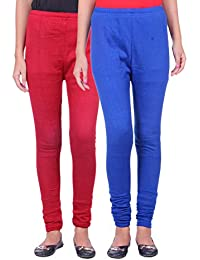 Belmarsh Warm Leggings - Pack of 2 (Maroon_Royal_Blue)